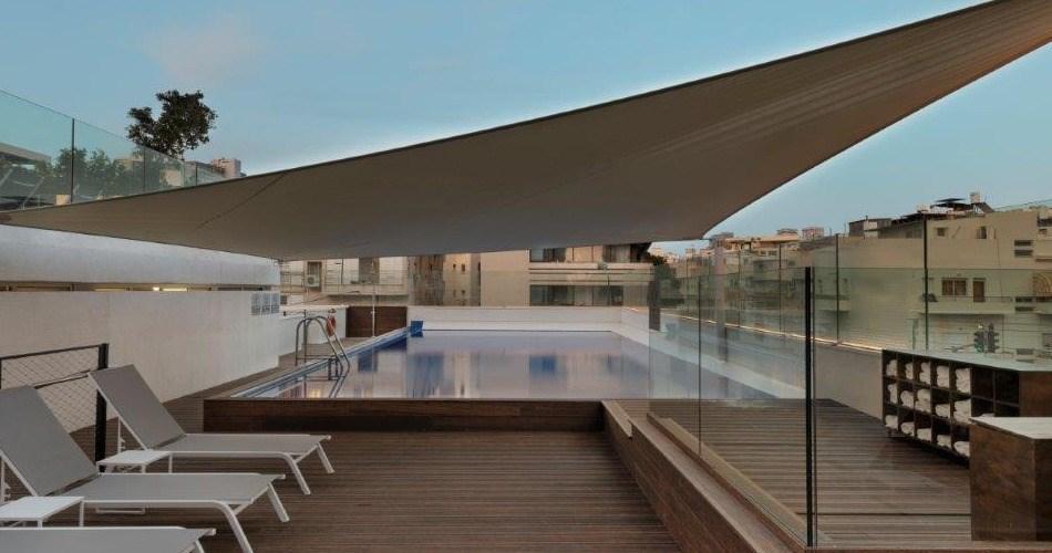 Бассейн на крыше - Метрополитен Отель Тель Авив